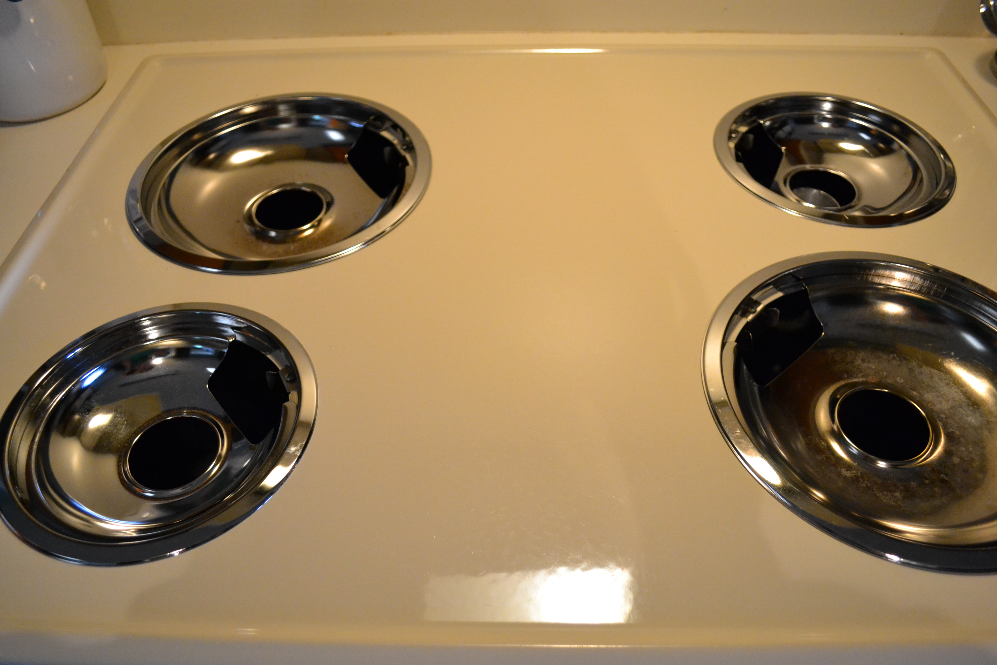 Clean Your Stove Drip Pans The Polka Dotted Turtle