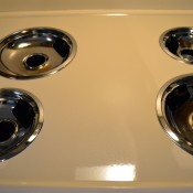 Clean Your Stove Drip Pans