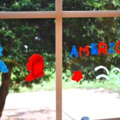 DIY Holiday Window Clings